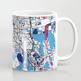 Milan - Italy MilkTea City Map Coffee Mug