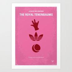 No320 My The Royal Tenenbaums minimal movie poster Art Print