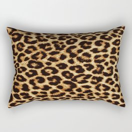 ReAL LeOparD Rectangular Pillow
