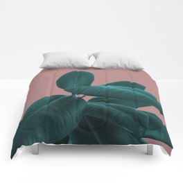 Ficus Elastica #9 #AshRose #decor #art #society6 Comforters