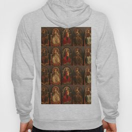 "Sandro Botticelli and Piero del Pollaiolo ""Theological and cardinal virtues"" Hoody"