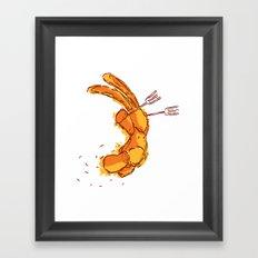 On the Winning Side Framed Art Print