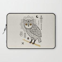 Hypno Owl Laptop Sleeve