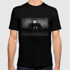 Lies LARGE Mens Fitted Tee Black