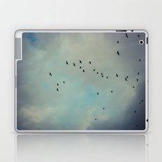enjoying the storm Laptop & iPad Skin
