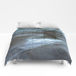 Abstract Beach Reflection Comforters
