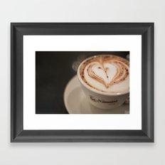 Pisa Cappuccino Framed Art Print