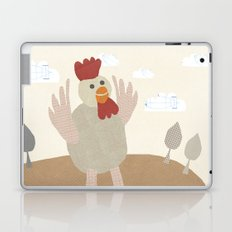rooster collage Laptop & iPad Skin