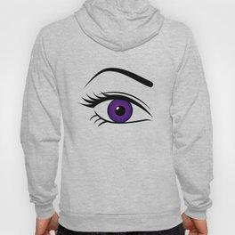 Violet Right Eye Hoody