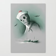 Wreckage of the past Canvas Print