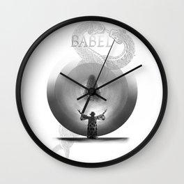 Metropolis Babel v.1 Wall Clock