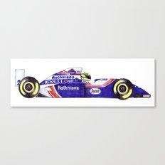 Senna Canvas Print
