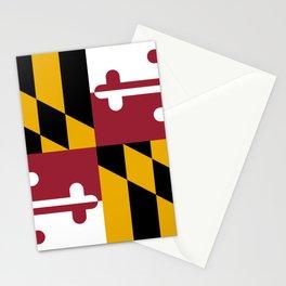 Maryland Flag Stationery Cards