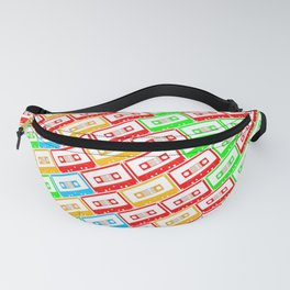 Mix-taped Fanny Pack