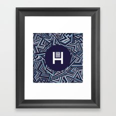 Halucinated Zigs Framed Art Print
