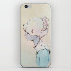 Portrait E iPhone & iPod Skin