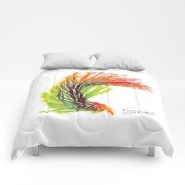 Tillandsia Funckiana Air Plant Watercolors Comforters