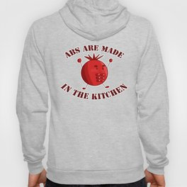 Six-Pack Tomato - Abs are made in the Kitchen Hoody