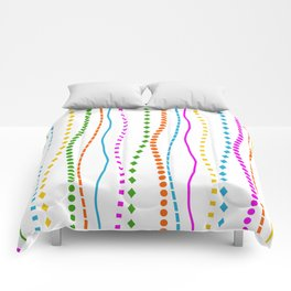 Lines with a difference Comforters