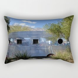 VINTAGE - Cool Classic Vintage Chrome Trailer Rectangular Pillow