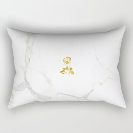 Forever Petal (Gold) Rectangular Pillow