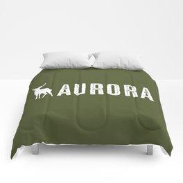 Deer: Aurora, Colorado Comforters