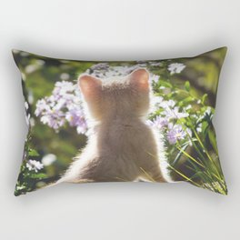 The Young observer Rectangular Pillow