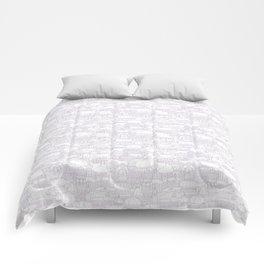 Delightful Domes - Mauve Comforters