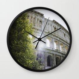 That Colosseum Shine Wall Clock