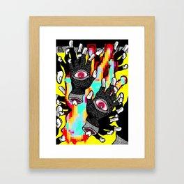 God Hand Lives!! Framed Art Print