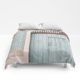 The mint door Comforters