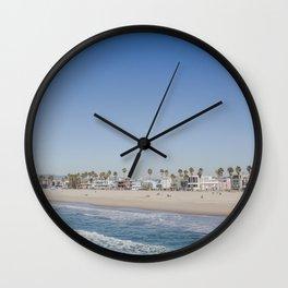 California Dreamin - Venice Beach Wall Clock