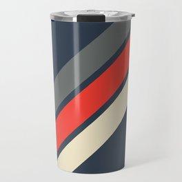 3 Retro Stripes #4 Travel Mug