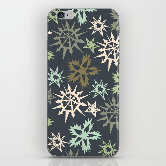 unlikely snowflakes iPhone & iPod Skin