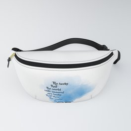 Immoral Books | Oscar Wilde Fanny Pack