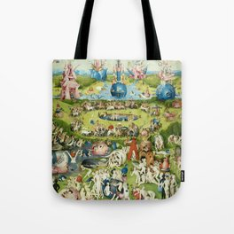 The Garden of Earthly Delights by Hieronymus Bosch Tote Bag