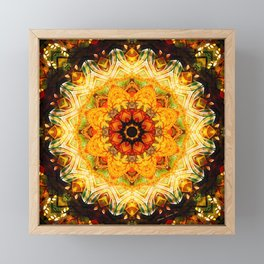 Mandalas from the Depth of Love 11 Framed Mini Art Print