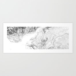 Severn Estuary Art Print