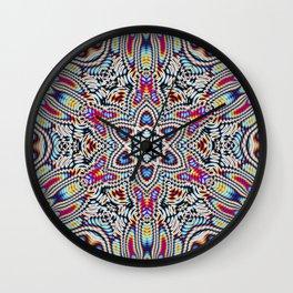 Hippie tech Wall Clock