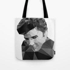 Elvis Presley - Digital Triangulation Tote Bag