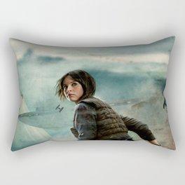 Jyn Erso Rectangular Pillow