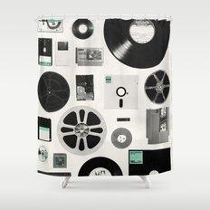 Data Shower Curtain