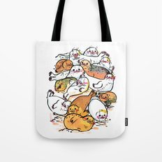 Seal family Tote Bag