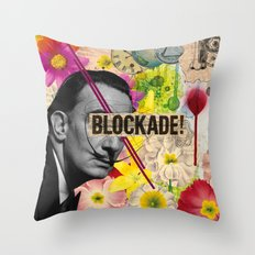 Public  Figures Collection -- Dali Throw Pillow