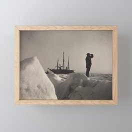 Nansen's Fram North Pole Expedition Framed Mini Art Print