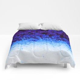 Indigo Blue Crystal Ombre Comforters