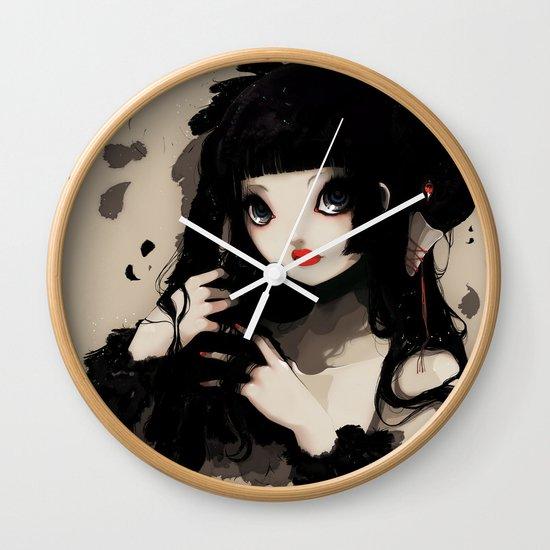 L'Oiseau silence Wall Clock
