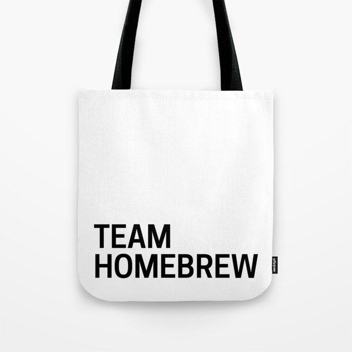 Team Homebrew Tote Bag