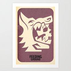 FEEDING GROUND Wolf's Clothing Art Print
