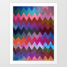 Gilgo Chevron Art Print